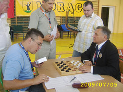 2009. Milakowo-Morag. World Draughts-64 Blind and Partially Sighted 010