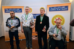 2018. Nidzica. 2nd European Draughts-64 Disabilities Champ. 87