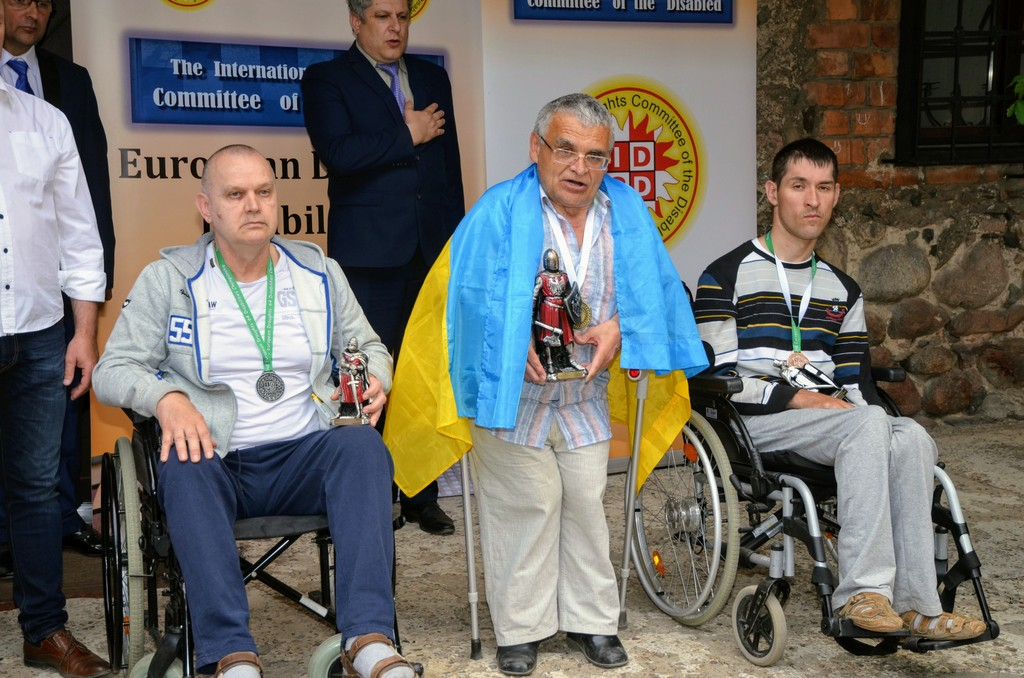 2018. Nidzica. 2nd European Draughts-64 Disabilities Champ. 25