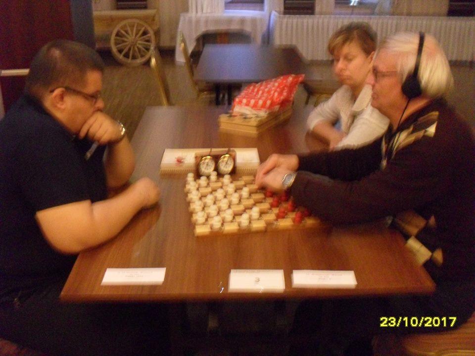 2017. Ladek Zdroj. II Mistrzostwa Polski Niewidomych w Warcabach Stupolowych 11