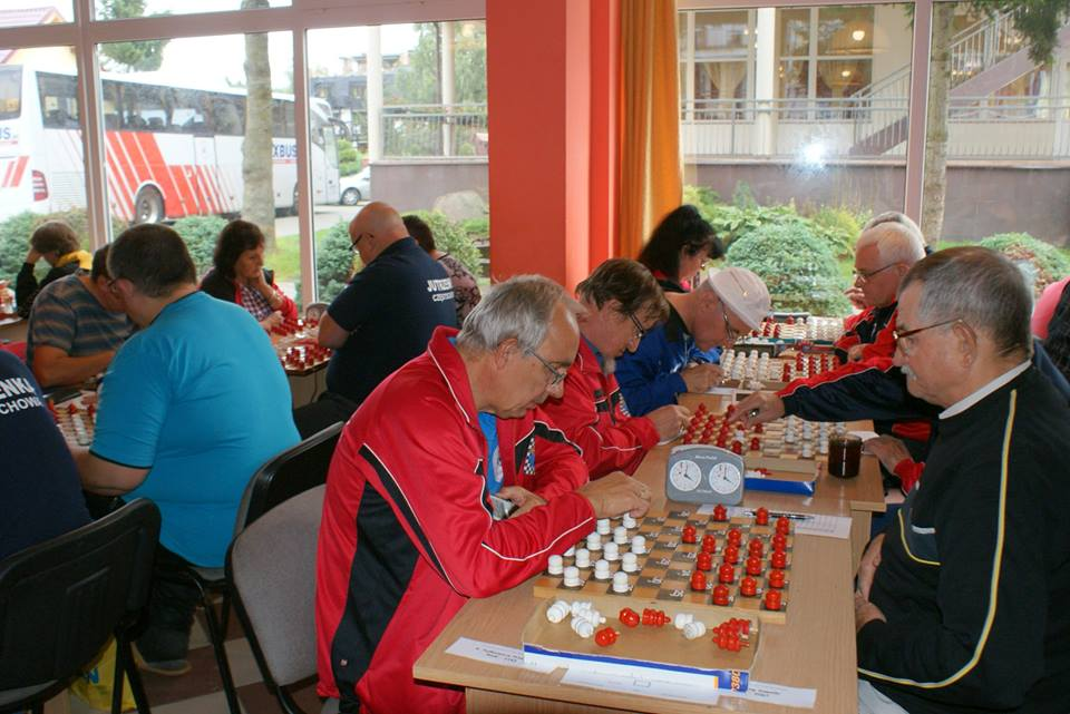 2017. Poddabie. Poland Team Draughts-100 Ch. Blind & Partially Sighted 13