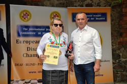 2018. Nidzica. 2nd European Draughts-64 Disabilities Champ. 9