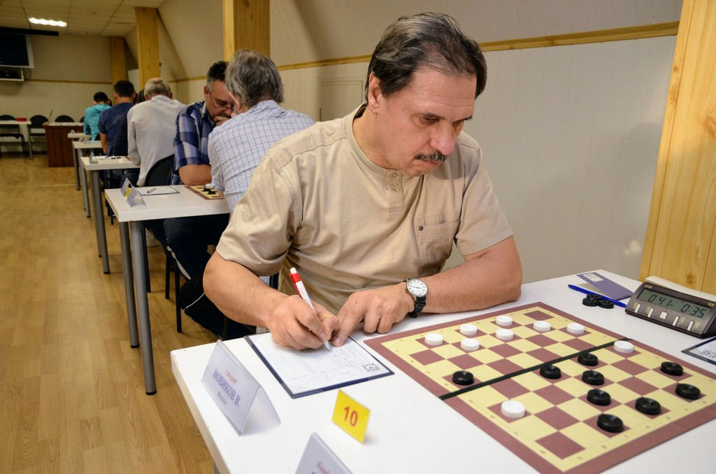 2018. Zelenograd. Russia Deaf Draughts Champ. 13