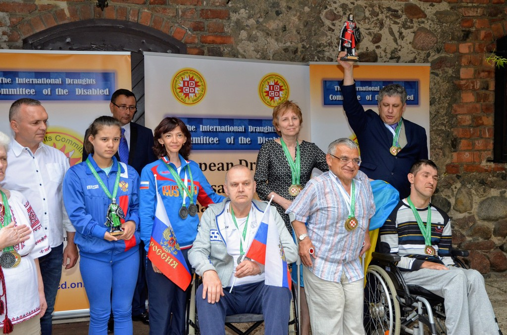 2018. Nidzica. 2nd European Draughts-64 Disabilities Champ. 45
