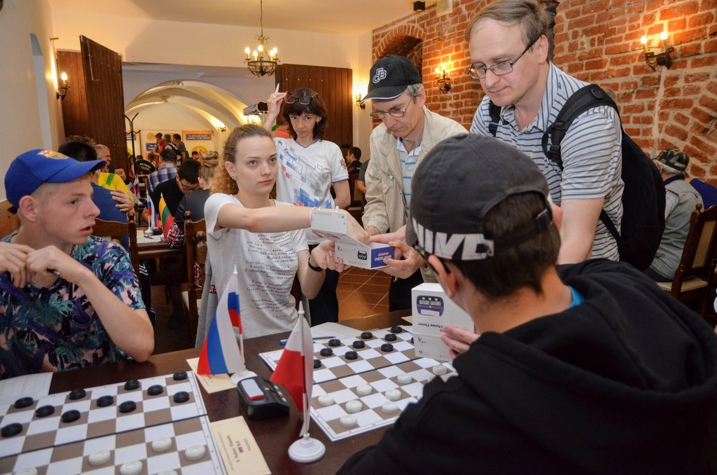 2018. Nidzica. 2nd European Draughts-64 Disabilities Champ. 66