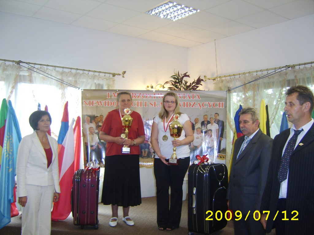 2009. Milakowo-Morag. World Draughts-64 Blind and Partially Sighted 025