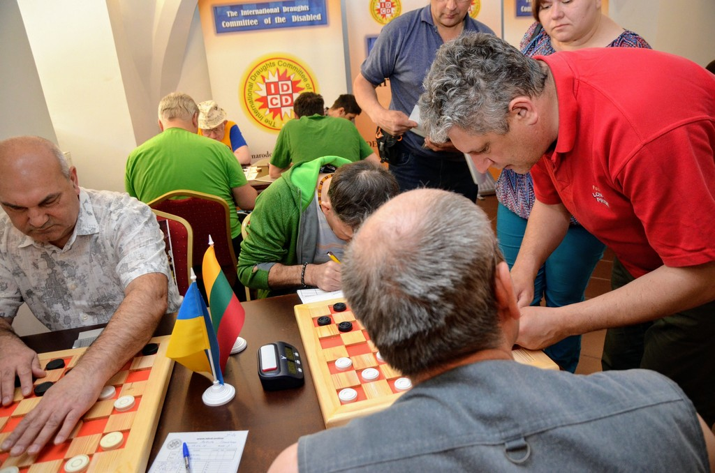 2018. Nidzica. 2nd European Draughts-64 Disabilities Champ. 61