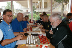 2017. Poddabie. Poland Team Draughts-100 Ch. Blind & Partially Sighted 4