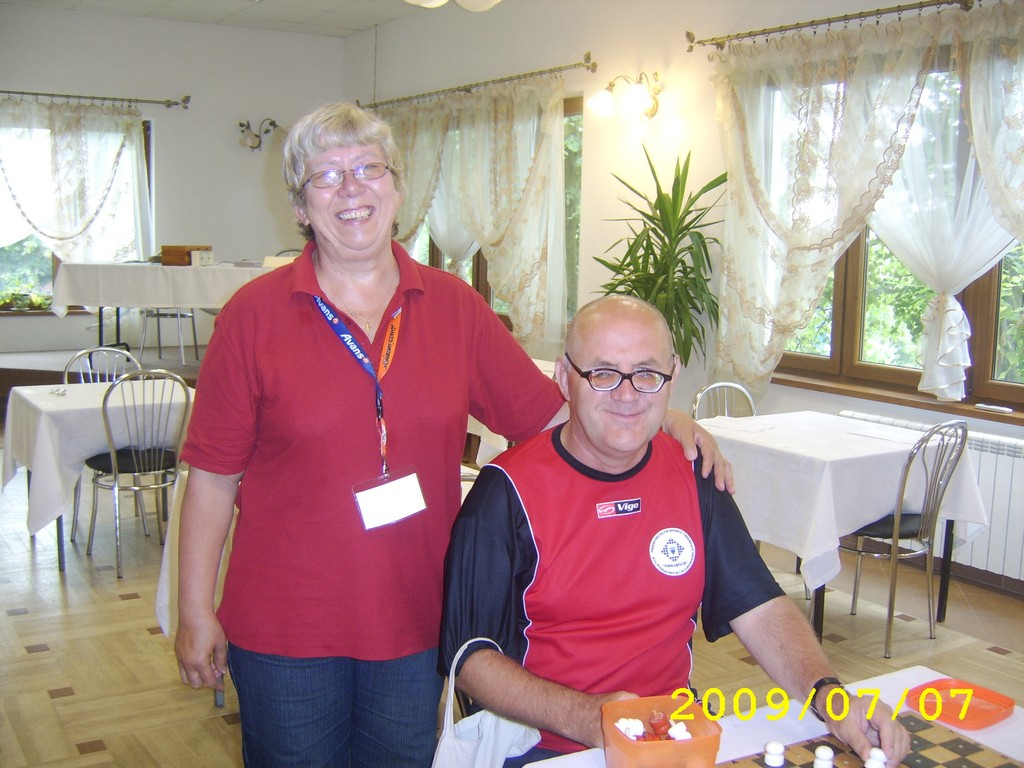 2009. Milakowo-Morag. World Draughts-64 Blind and Partially Sighted 022