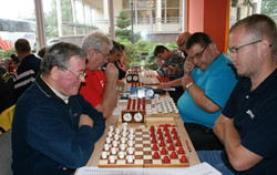 2017. Poddabie. Poland Team Draughts-100 Ch. Blind & Partially Sighted 3