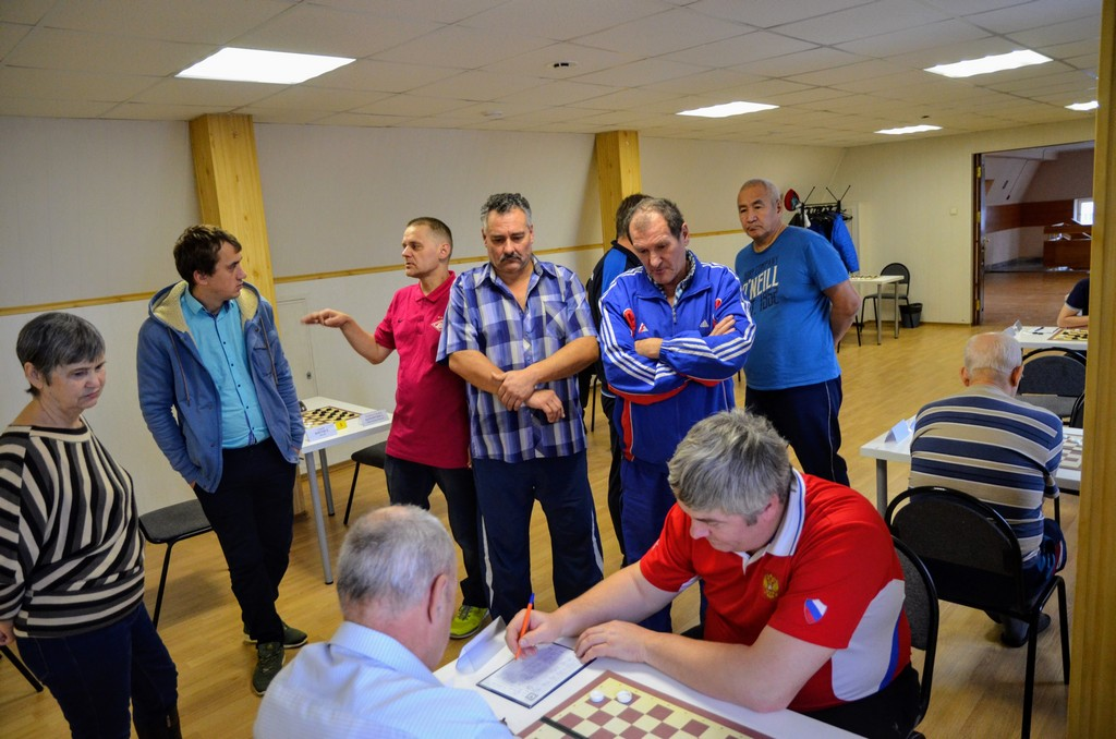 2018. Zelenograd. Russia Deaf Draughts Champ. 22