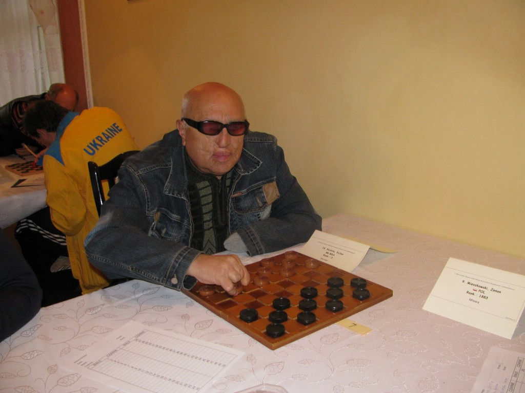 2011. Mlawa. World Draughts-64 Blind and Partially Sighted 005