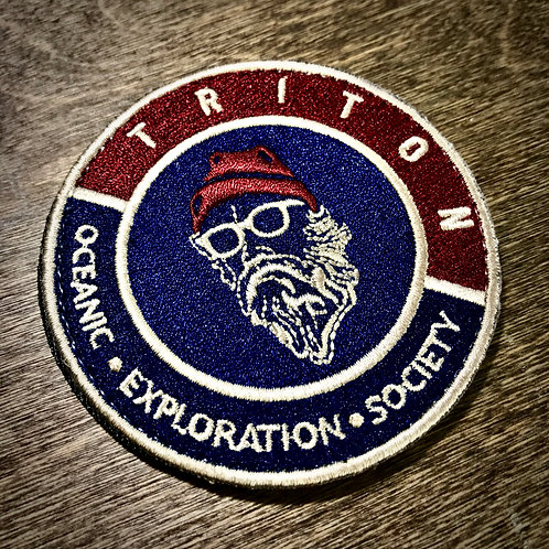 Triton Society Member Patch