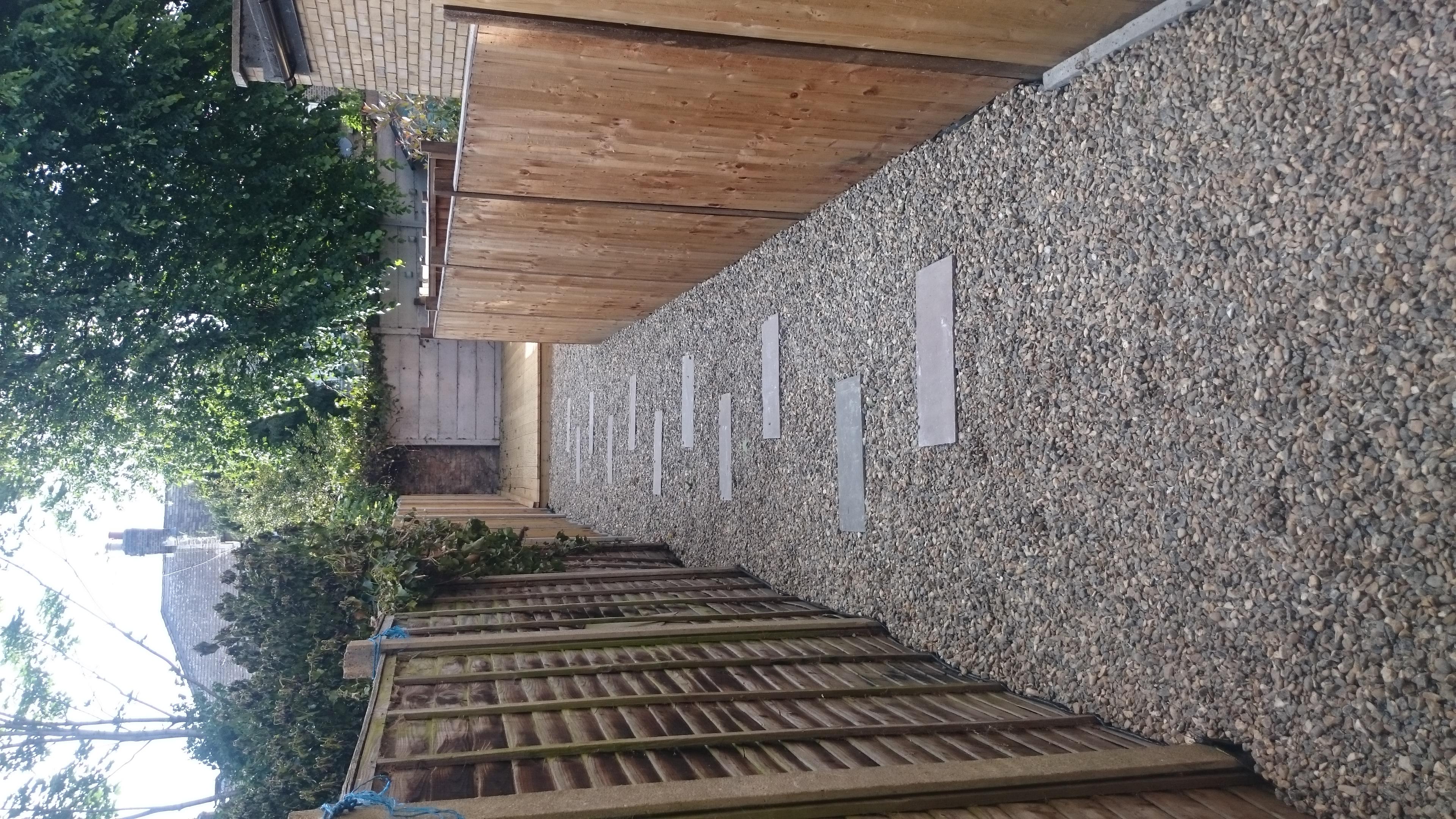 Paving slabs, Decking