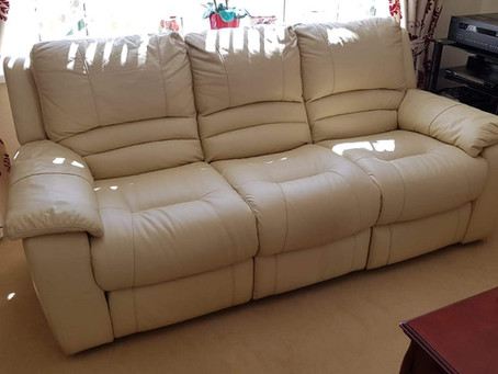 Alan from Tamworth, had his recliner sofa fixed.
