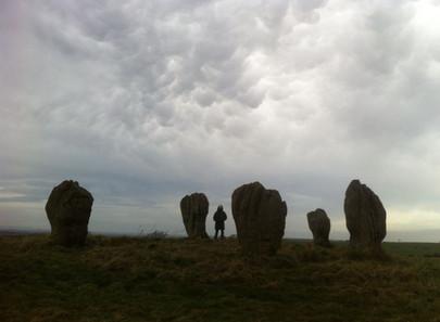 Northumberland stone circle