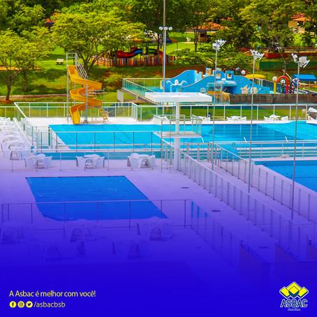 O Novo Complexo de Piscinas Sociais da Asbac está oficialmente inaugurado!