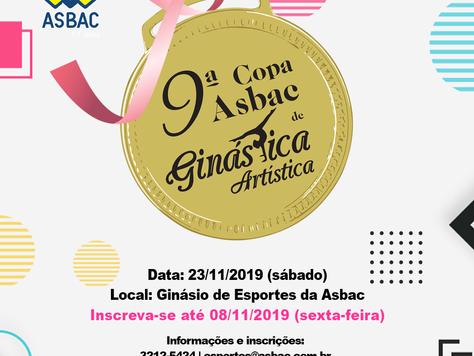 9º Copa Asbac de Ginástica Artística