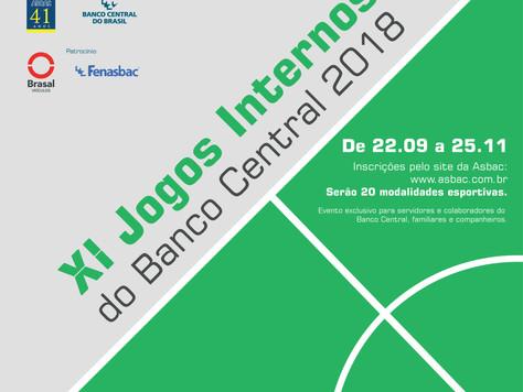 XI Jogos Internos do Banco Central 2018 e Feirão barato de verdade Brasal