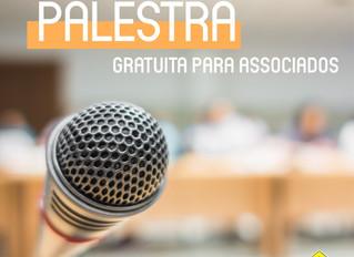 Palestra gratuita para Associados no Portal do Lago