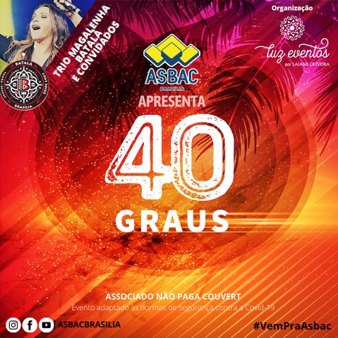Sexta é dia de diversão na Asbac Brasília!