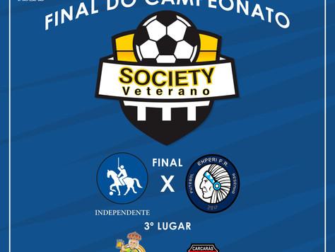Final do 15º Torneio de Futebol Society Veterano