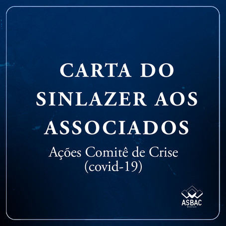 CARTA ABERTA AOS ASSOCIADOS