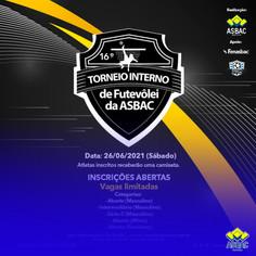 16º Torneio Interno de Futevôlei