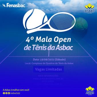 4º Mala Open de Tênis Asbac