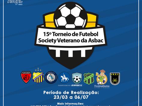15º Torneio de Futebol Society Veterano da Asbac