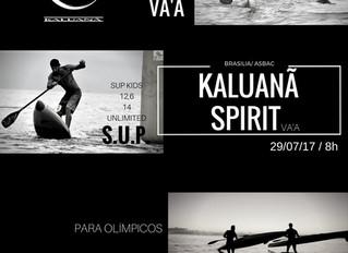 Kaluanã Spirit - Brasiliense de Canoa Havaiana, Caiaque e SUP na Prainha da Asbac