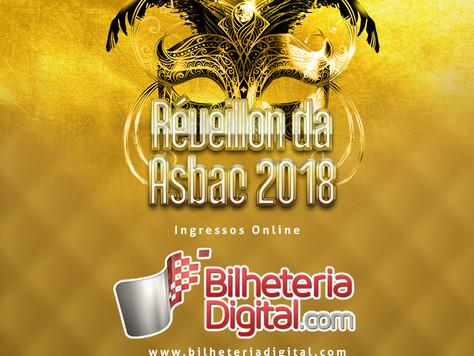 Réveillon Baile de Máscaras 2018 na Asbac: Compras disponíveis pela bilheteria digital