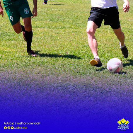 Domingo de Futebol na Asbac! ⚽
