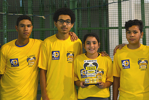 4º Aberto de Tênis de Mesa: O esporte a favor da solidariedade