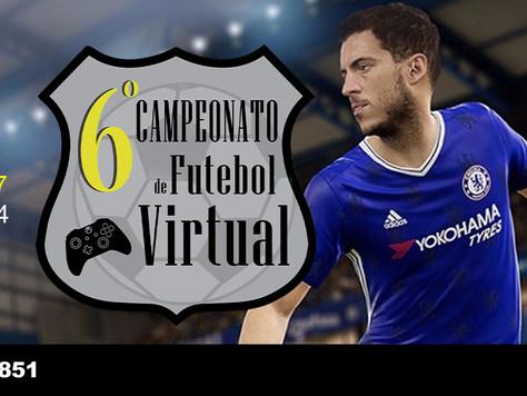 6º Campeonato de Futebol Virtual da Asbac: Inscrições abertas