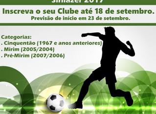 A Asbac convoca mini craques para competir nos Torneios de Futebol Society Interclubes Sinlazer 2017