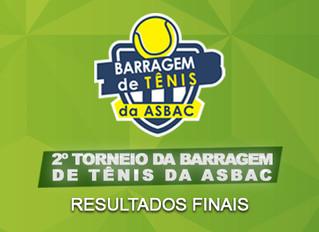Finais do 2º Torneio da Barragem de Tênis, um dia de emoção e homenagem