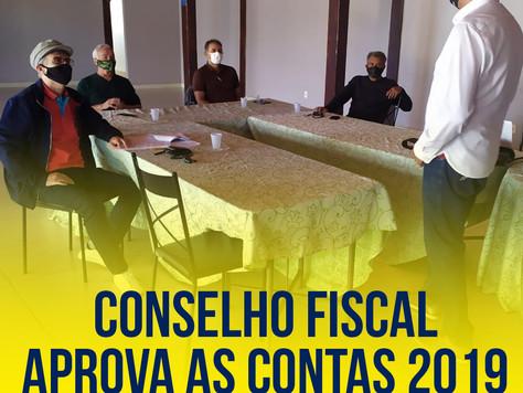Conselho fiscal aprova as contas 2019