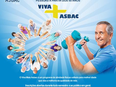 VIVA + ASBAC - Inscrições Abertas