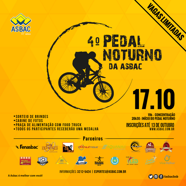 4º Pedal Noturno da Asbac