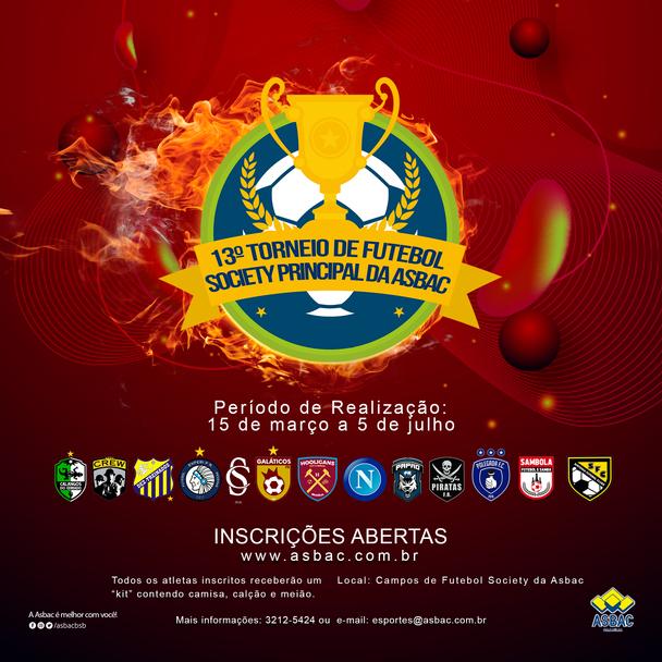 13º Torneio de Futebol Society Principal