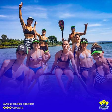 Parceiros Asbac: Clube de remada Kaluanã