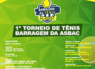 1º Torneio de Tênis – Barragem da Asbac Brasília