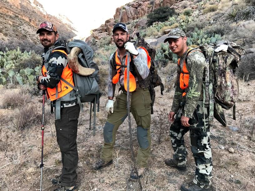 Brett Barney Desert Ram Pack Out