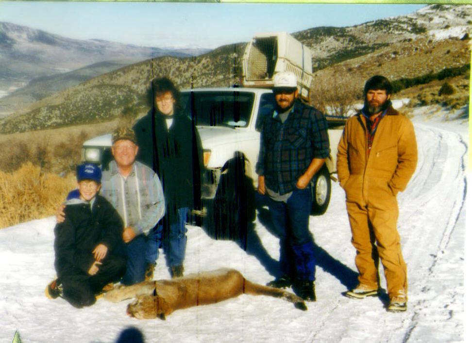 Mt. Lion Hunting Utah