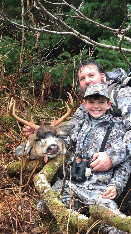 Guided Sitka Blacktail Hunting in Alaska