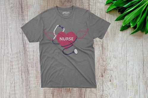 Nurse w/Angel Wings