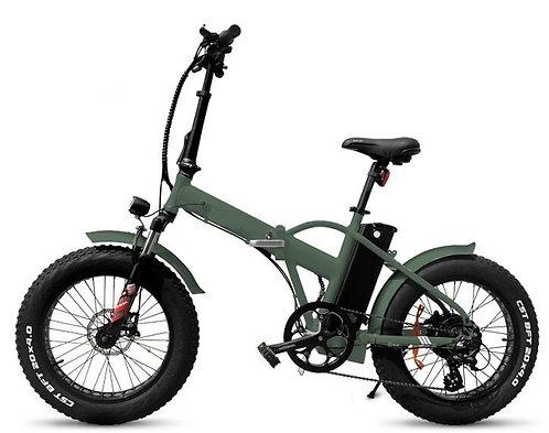 750W Folding Fat Tire Bike