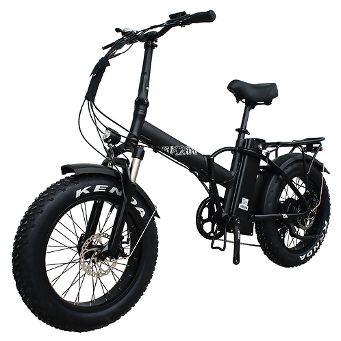 "750W Folding 20"" Fat Tire Bike"