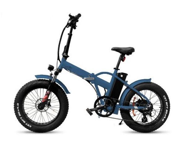 Folding Bike Blue.JPG